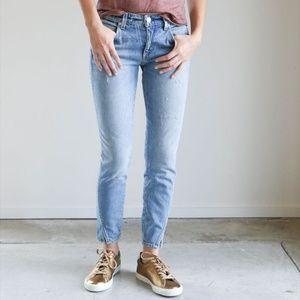 Amo Twist Crop Skinny Jeans in Sweet Cheeks 26